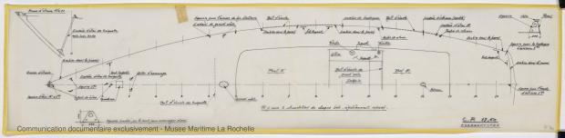 PLAN DE PONT - CRUISER RAPIDE   17,60 M (1977)