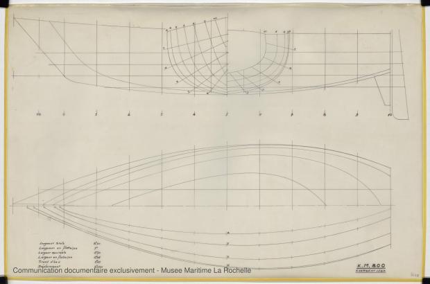PLAN DE COQUE - K.M. 810      (1977)