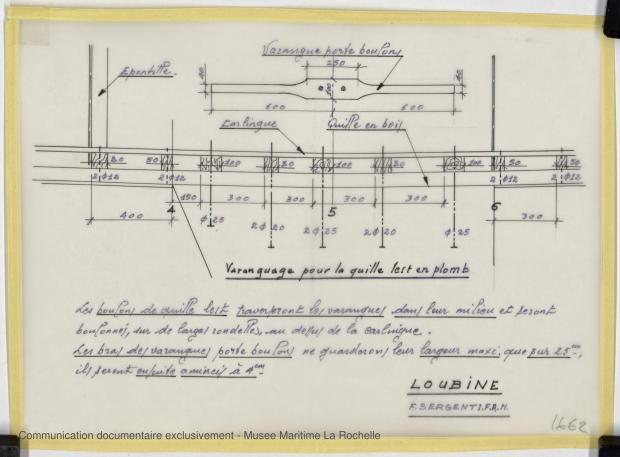 PLAN DE DERIVE/QUILLE - LOUBINE (1977)