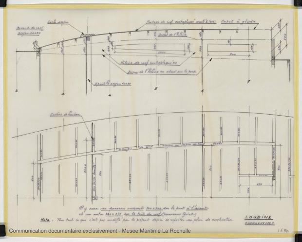 PLAN DE CONSTRUCTION - LOUBINE (1977)