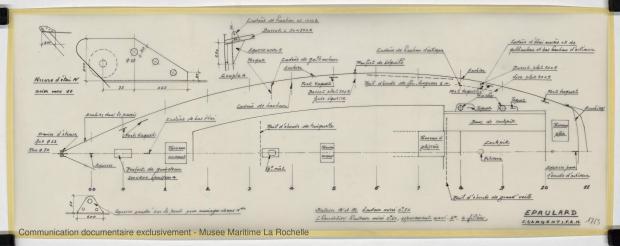 PLAN DE PONT - Epaulard  12,50 m (1978)