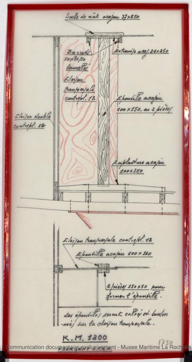PLAN DE CONSTRUCTION - K.M. 1200 (1978)
