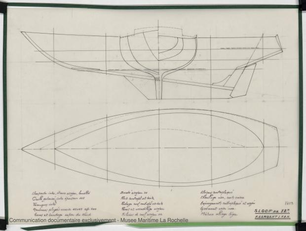PLAN DE COQUE - K.M. 1200 (1978)