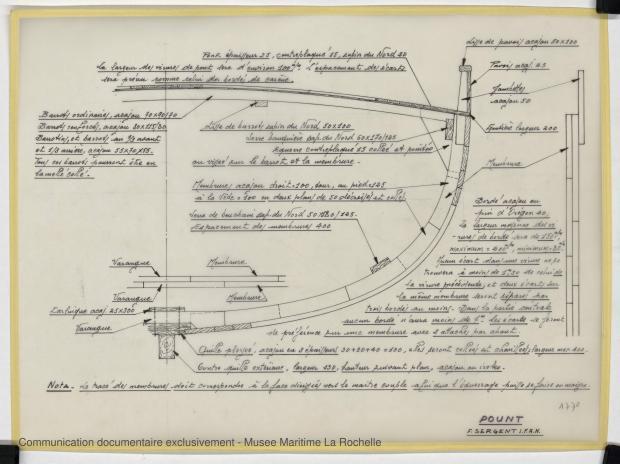 PLAN DE CONSTRUCTION - POUNT  (1979)