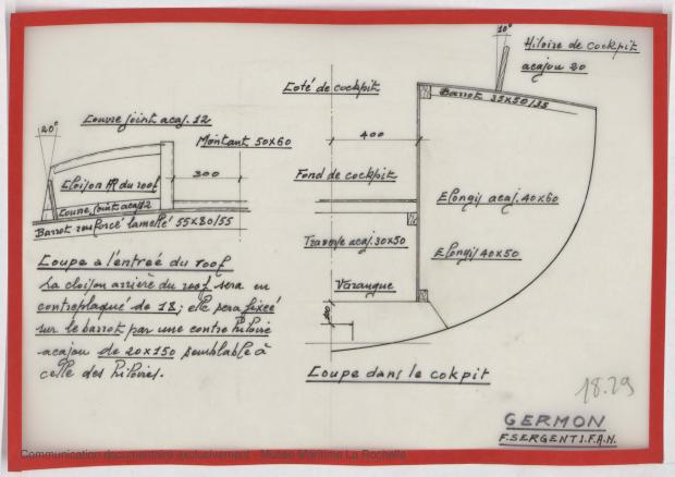 PLAN DE CONSTRUCTION - GERMON (1980)
