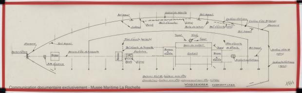 PLAN DE PONT - WINDJAMMER II  San 40   (1980)