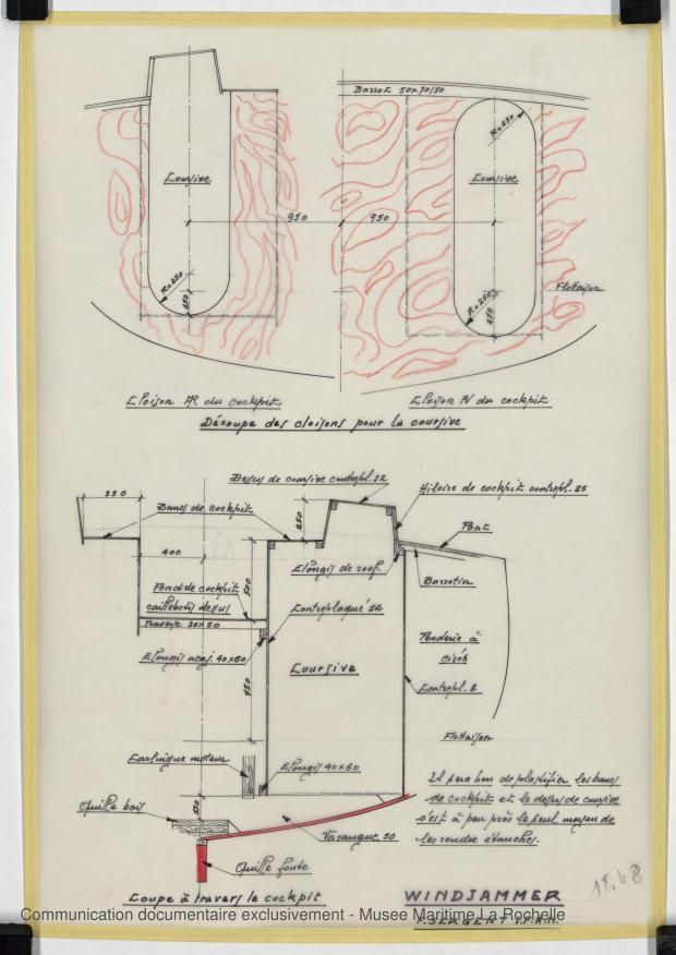 PLAN DE CONSTRUCTION - WINDJAMMER II  San 40   (1980)