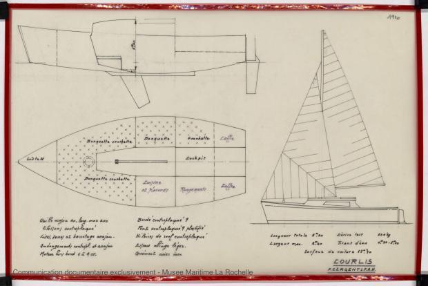 PLAN GENERAL - COURLIS  5.50 M (1981)