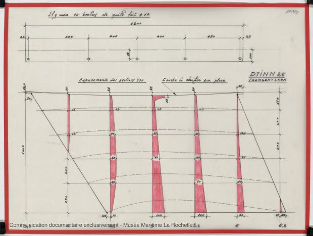 PLAN DE CONSTRUCTION - DJINN 26 (1982)