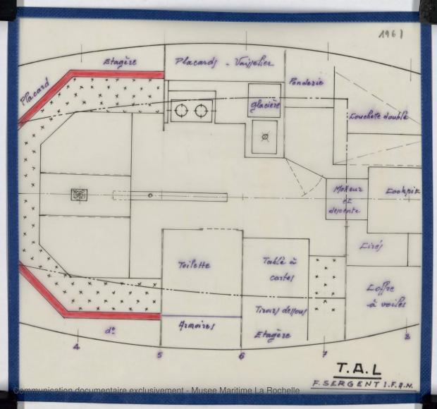 PLAN D'AMENAGEMENT  - TONGA-TALI 10.50 M (1983)