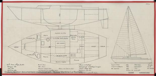 PLAN GENERAL - TONGA-TALI 10.50 M (1983)