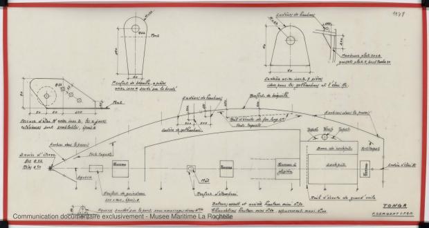 PLAN DE PONT - TONGA-TALI 10.50 M (1983)