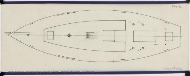 PLAN DE PONT - KOMOG LANGOUSTIER 10.75 M (1985)