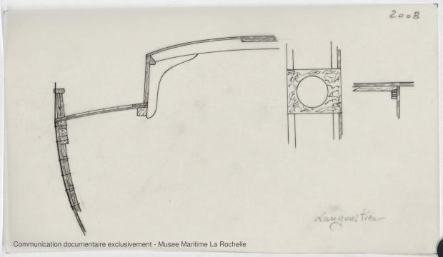 PLAN DE CONSTRUCTION - KOMOG LANGOUSTIER 10.75 M (1985)