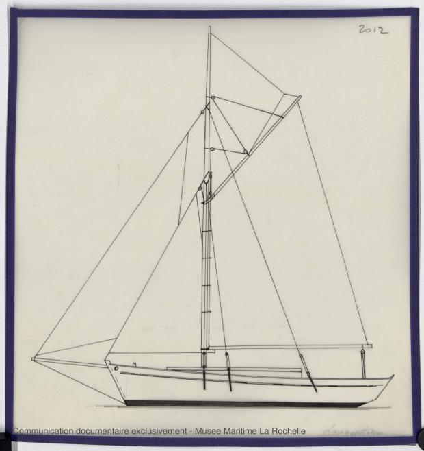 PLAN GENERAL - KOMOG LANGOUSTIER 10.75 M (1985)